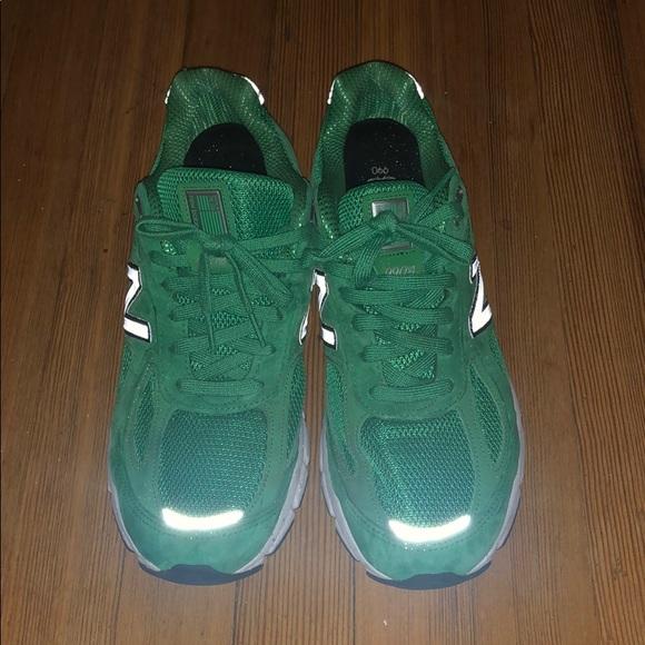outlet store 1fbd2 cbb61 new balance 990v4 in irish green